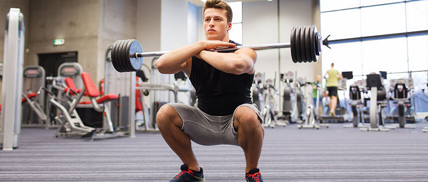 the difference between a front squat and a back squat and how to properly perform both